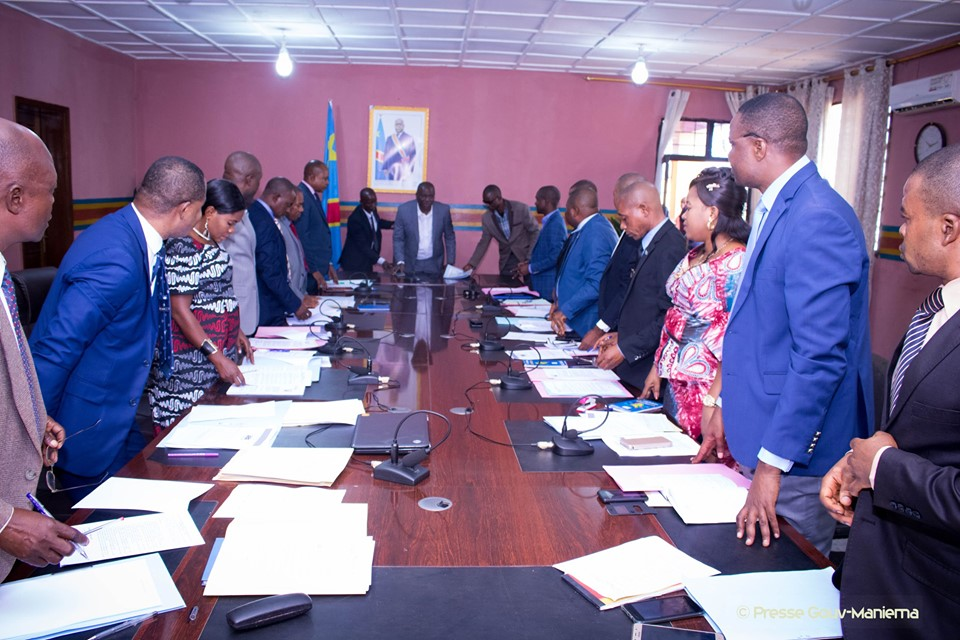 Compte rendu de la réunion du Conseil des Ministre du 24 octobre 2019 tenue à Kindu
