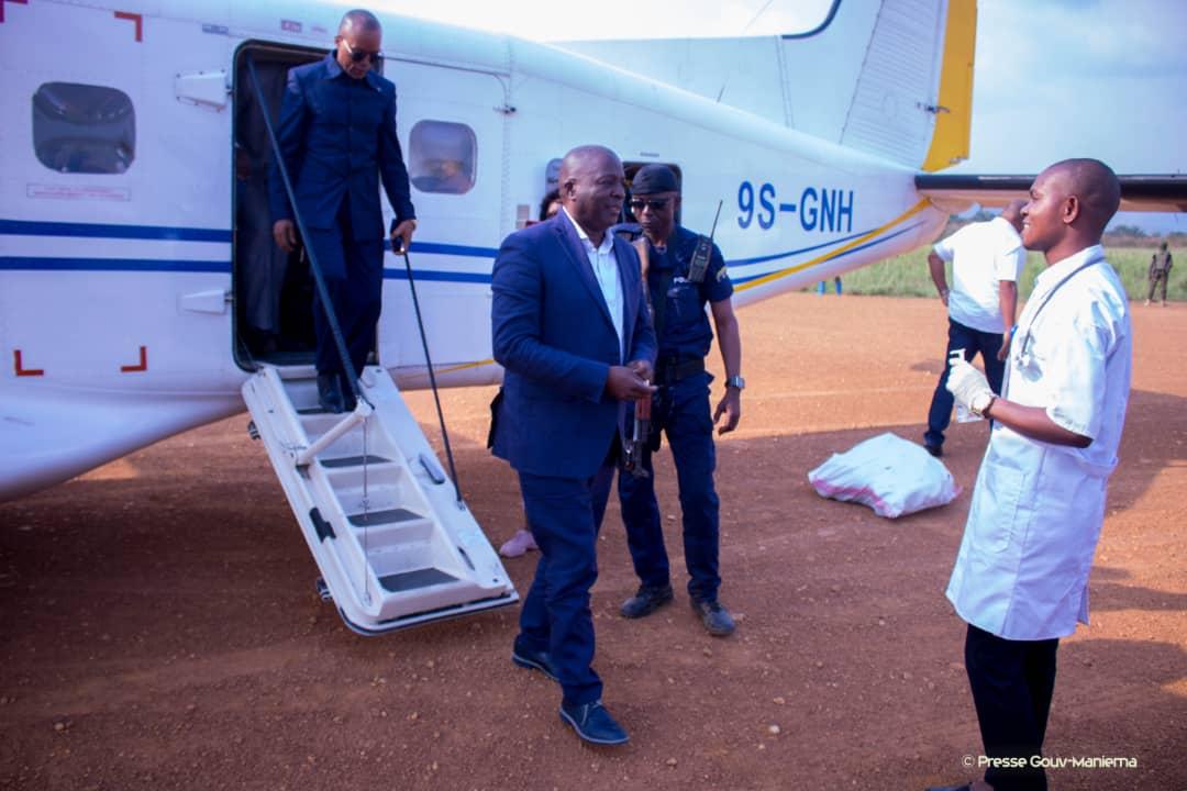 Le Gouverneur à Salamabila pour restaurer la paix et présider un Conseil des Ministres