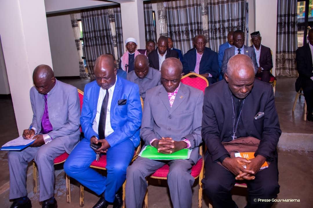 Maniema : le Gouverneur Musafiri sensibilise les confessions religieuses et les jeunes sur l'agriculture