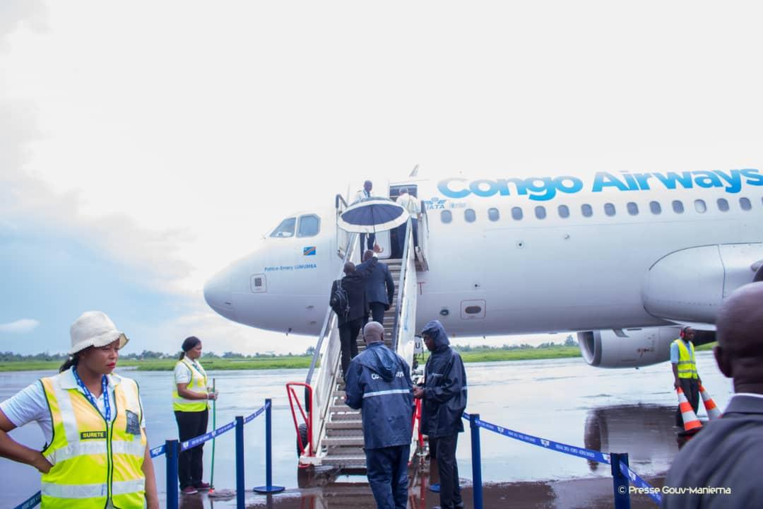 Le Gouverneur Musafiri se rend à Kinshasa et Canada