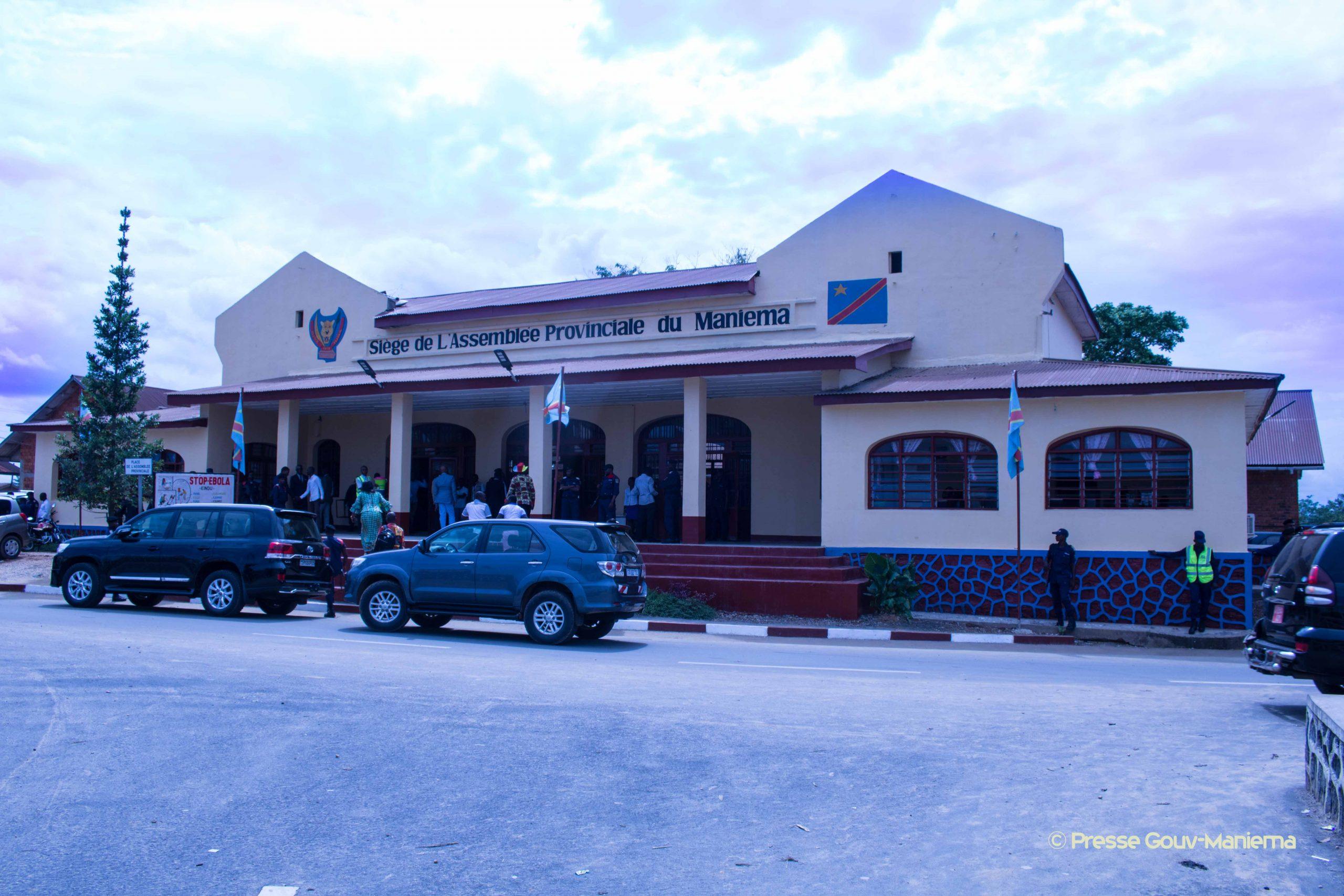 Maniema : ouverture de la session parlementaire de septembre 2019