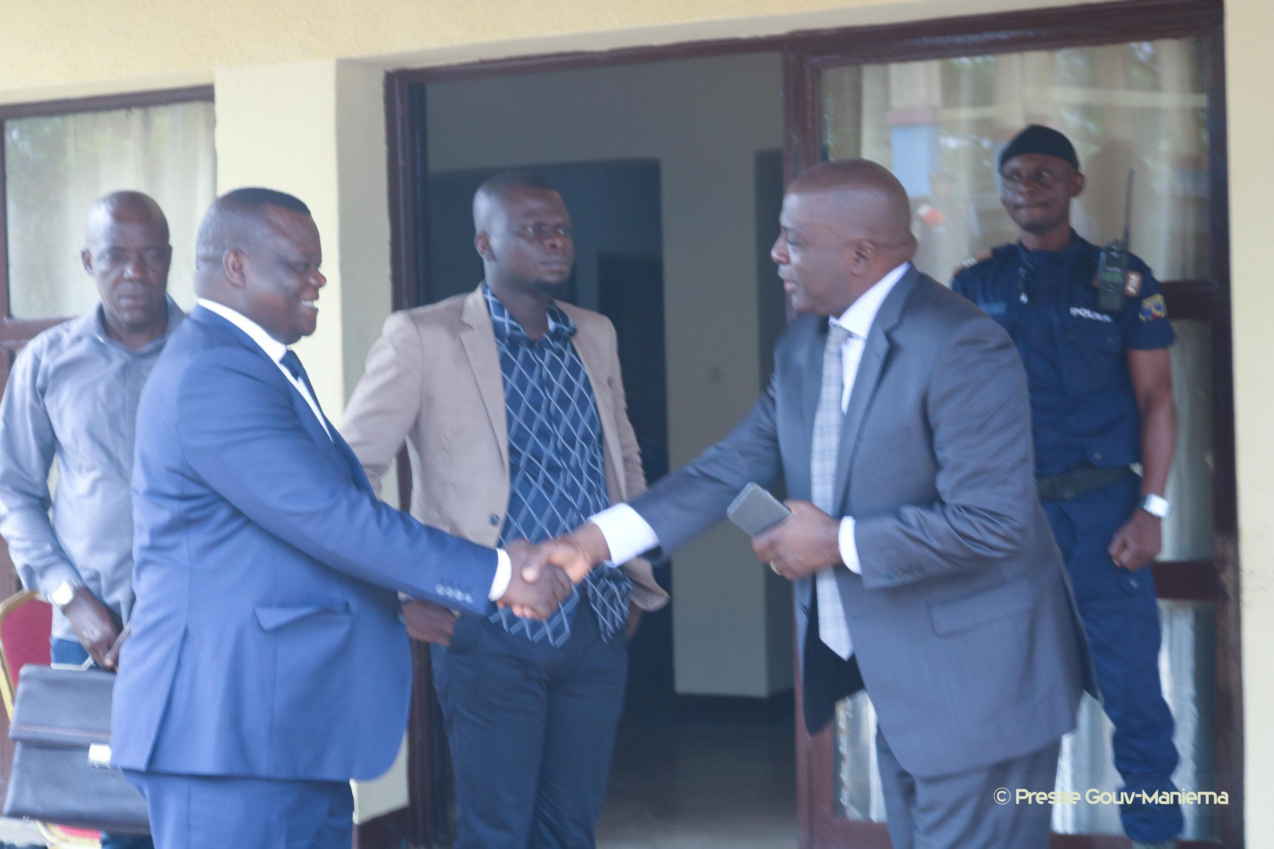 Maniema : le sénateur Jean-Baptiste Assumani et Auguy Musafiri ont échangé sur le développement de la province