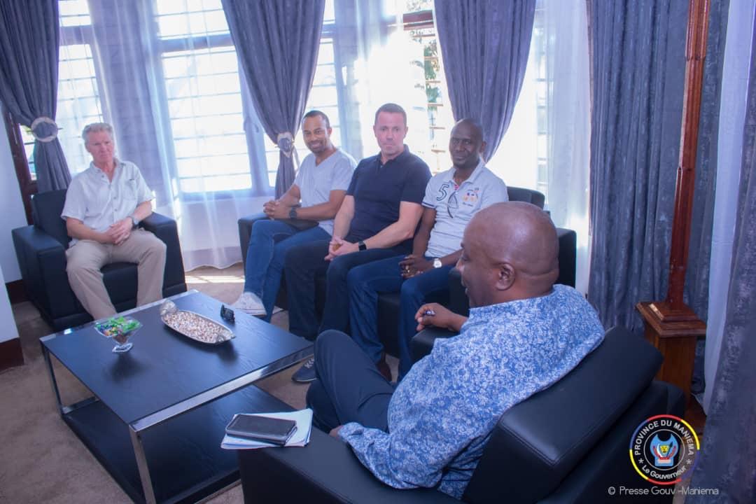 Le Gouverneur Musafiri s'entretient avec une délégation de la Société Congo Jia Xin autour du développement de la province