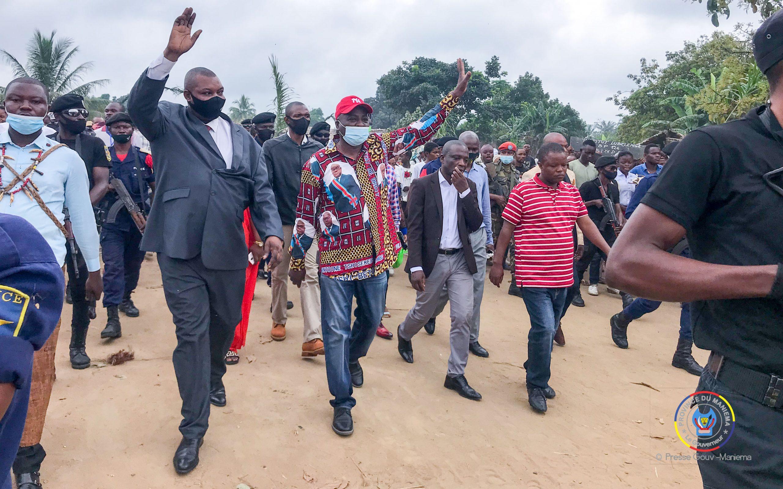 Maniema : séjour du Gouverneur Musafiri dans le territoire des Kaïlo, retour sur l'essentiel