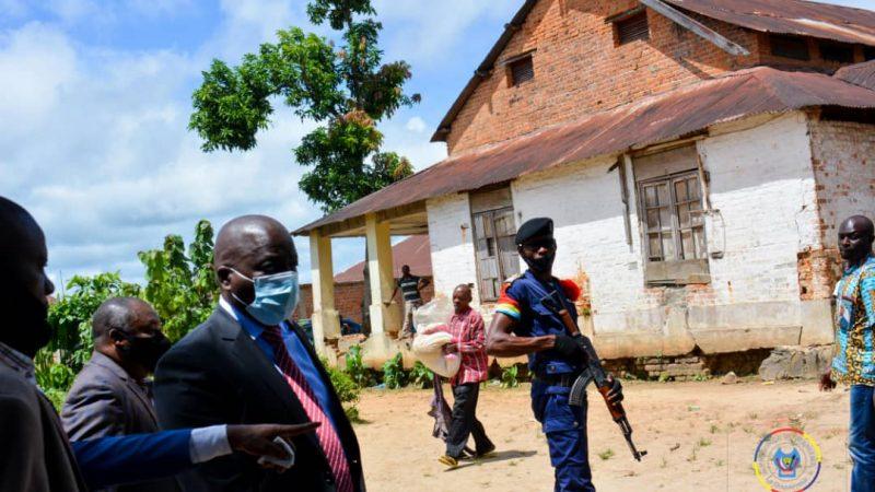 Maniema : le Gouverneur Auguy Musafiri visite les immeubles et concessions spoliées de la SCPT