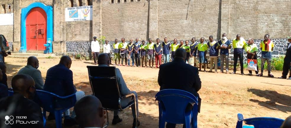 Maniema : libération de 18 détenus bénéficiaires de la grâce présidentielle à la prison centrale de Kindu