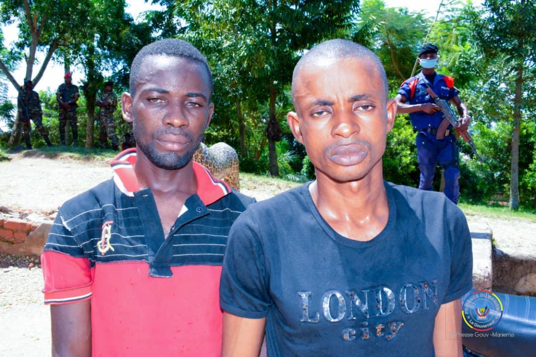 Kindu : Deux présumés meurtriers d'un motard présentés au Gouverneur Musafiri