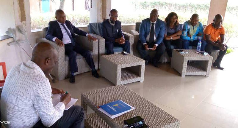 Maniema : le Gouverneur ai Mangala s'entretient avec le nouveau comité élu de la Socima