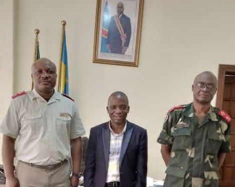 Sécurité : le Gouv ai Mangala à l'Etat Major Général des FARDC à la recherche des solutions pour Kabambare