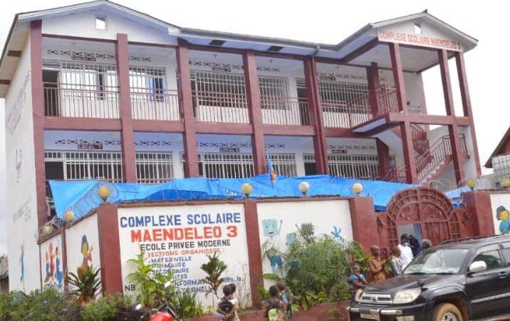 Kindu : le Gouverneur ai Idrissa Mangala inaugure une nouvelle école moderne