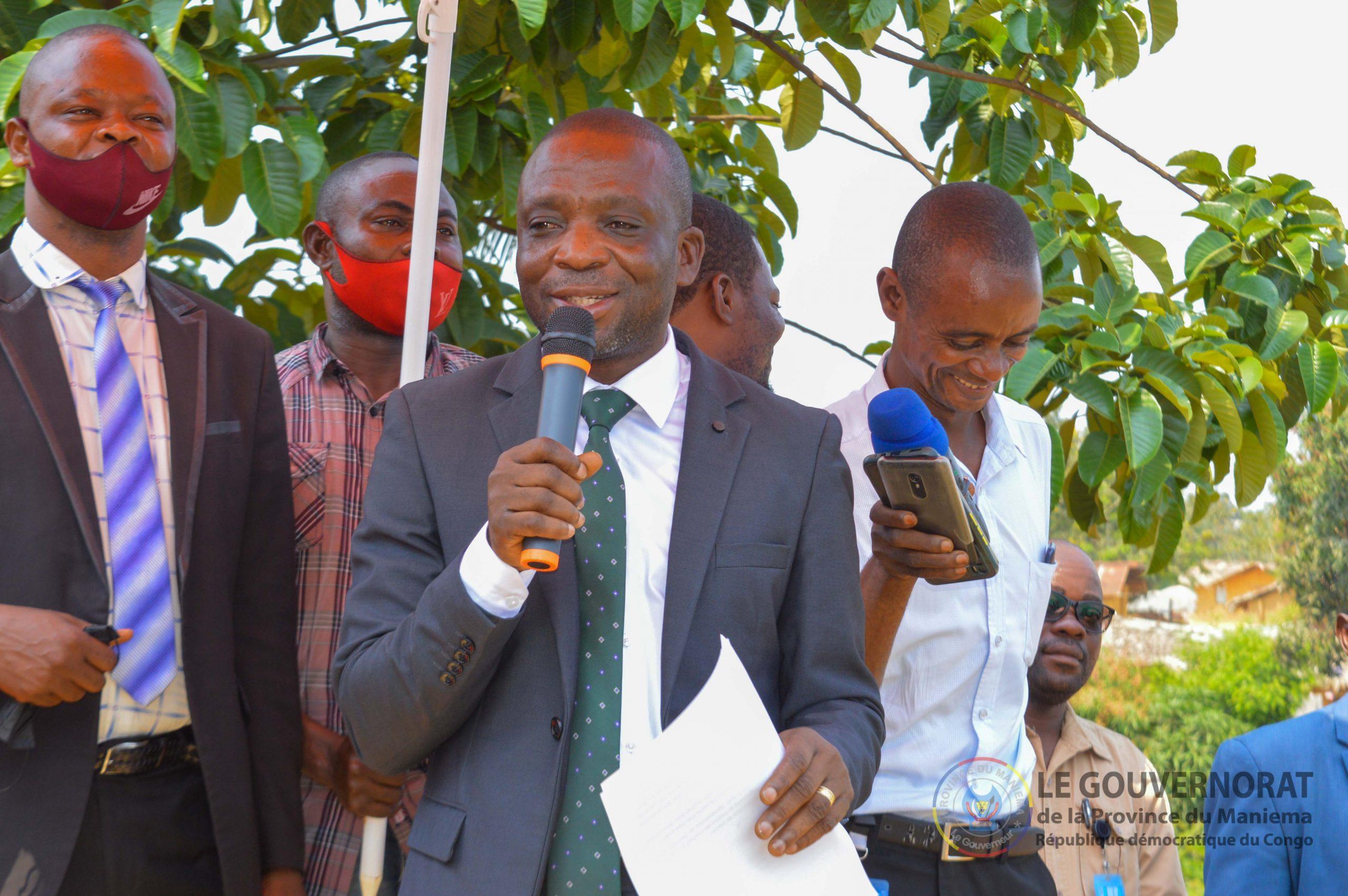 Kabambare : le Gouverneur ai Mangala conduit une mission d'évaluation sécuritaire à Wamaza