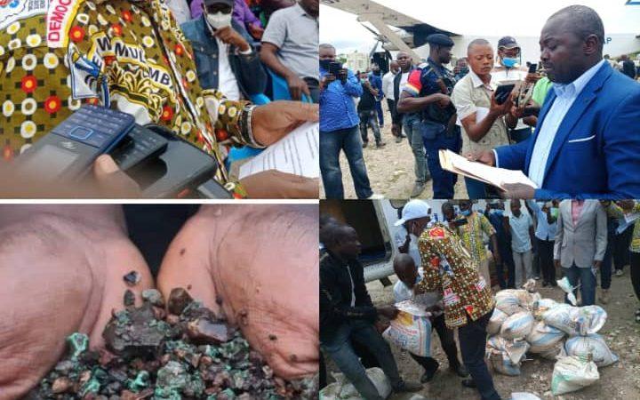 Maniema : première exportation des minerais au Grand Kivu après neuf ans de fermeture