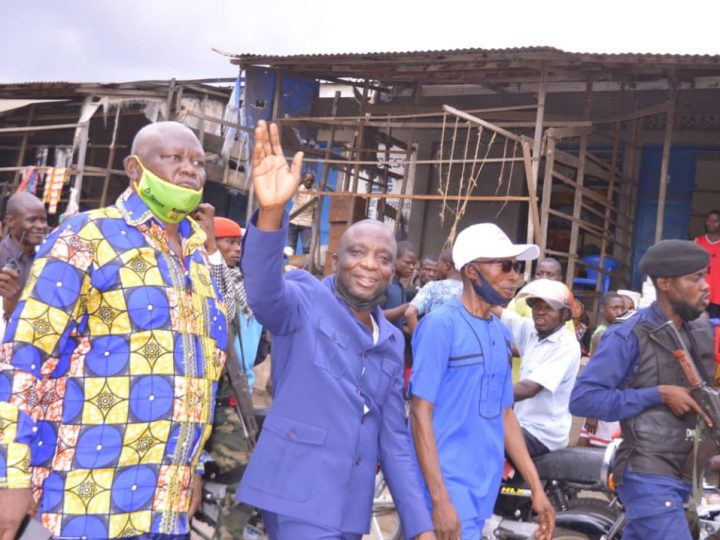 """Maniema : Après 💯 Jours de gestion en tant que Gouverneur ai, AFANI IDRISSA MANGALA à la tête d'un ambitieux programme intitulé """" Maniema d'abord"""""""